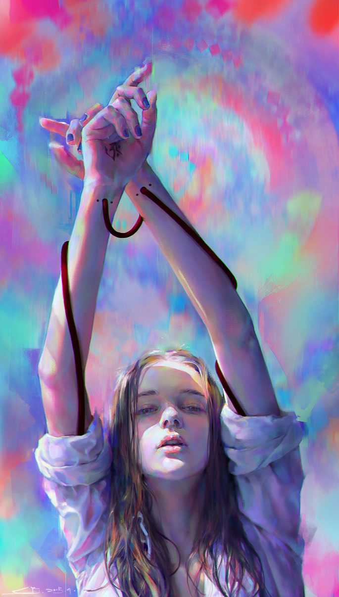 Paintable.cc | 50 Stunning Digital Painting Portraits: Yanjun Cheng