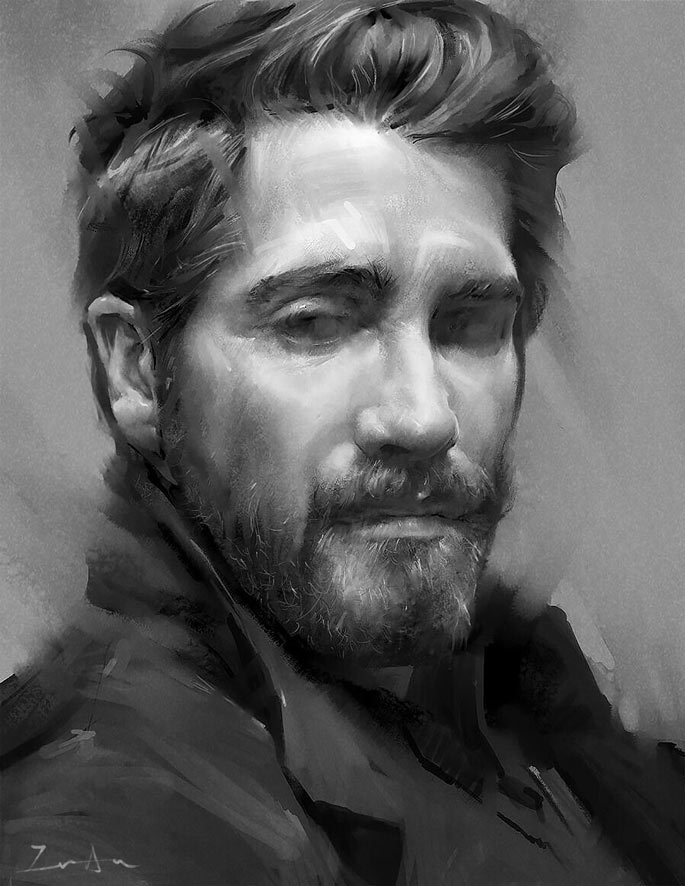 Paintable.cc | 50 Stunning Digital Painting Portraits: Yifan