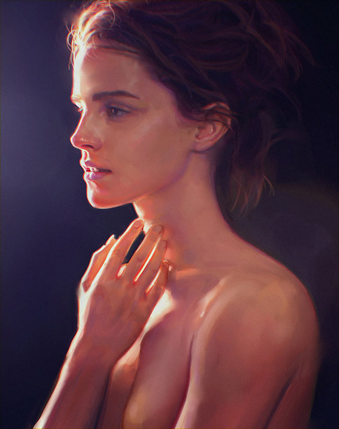 Paintable.cc | 50 Stunning Digital Painting Portraits: Irakli Nadar