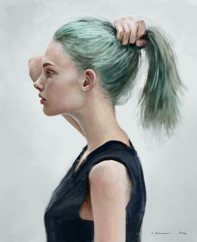 Paintable.cc | 50 Stunning Digital Painting Portraits: Isabella Morawetz