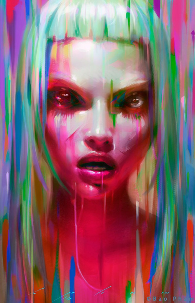 Paintable.cc | 50 Stunning Digital Painting Portraits: Bao Pham