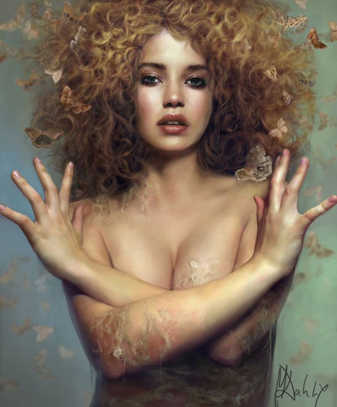 Paintable.cc | 50 Stunning Digital Painting Portraits: Marta Dahlig