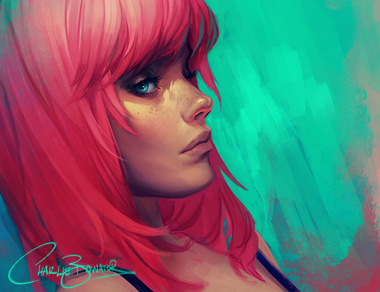Paintable.cc | 50 Stunning Digital Painting Portraits: Charlie Bowater