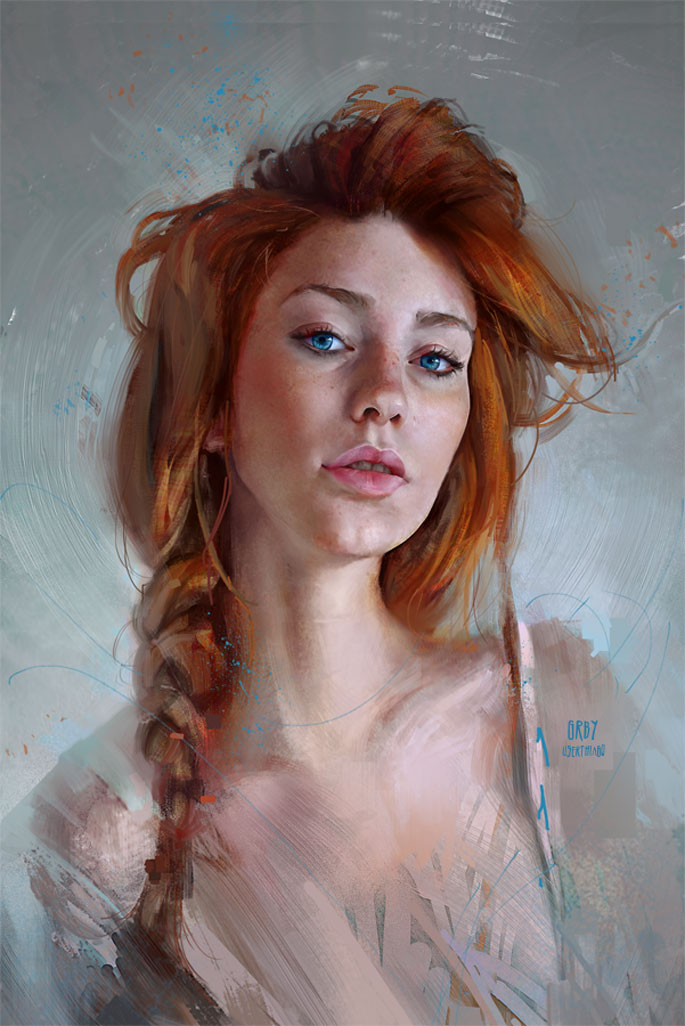 Paintable 50 Breathtaking Digital Painting Portraits for your ...
