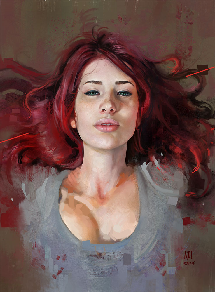 Paintable.cc | 50 Stunning Digital Painting Portraits: Thiago Moura Januário