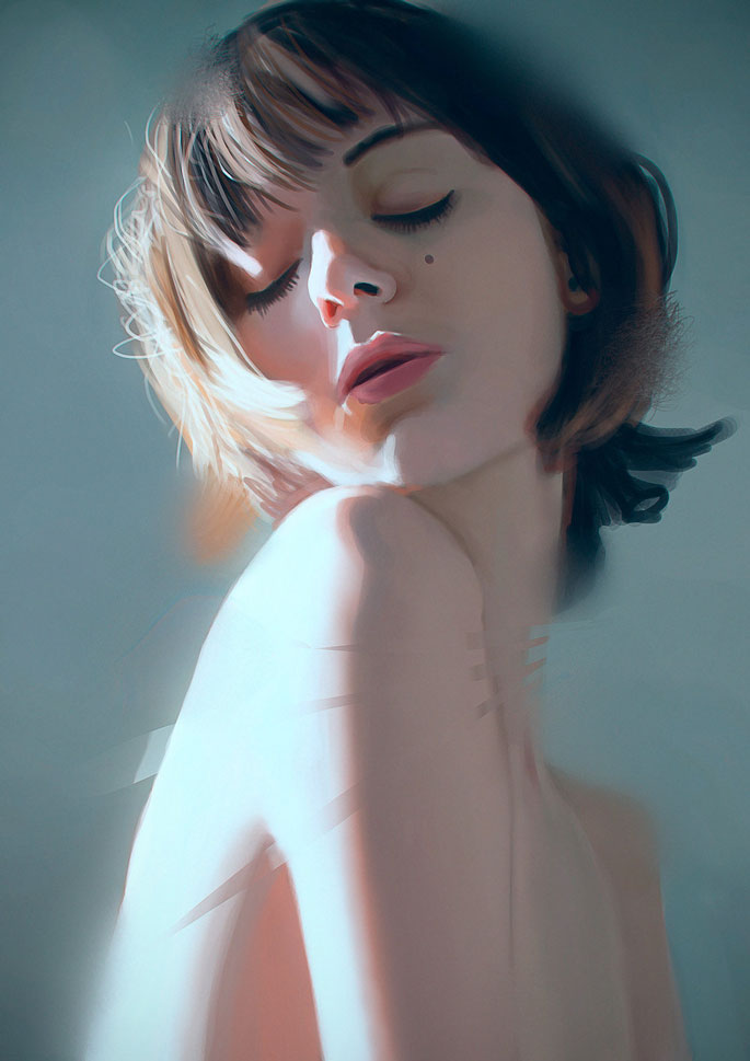 Paintable.cc | 50 Stunning Digital Painting Portraits: Carlos Alberto