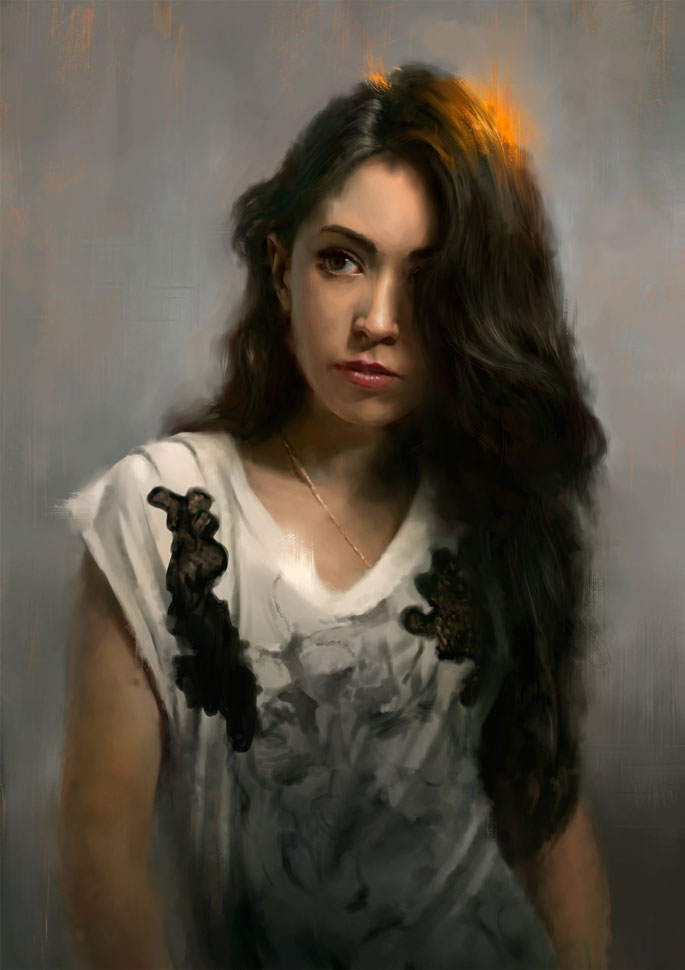 Paintable.cc | 50 Stunning Digital Painting Portraits: Wojtek Fus