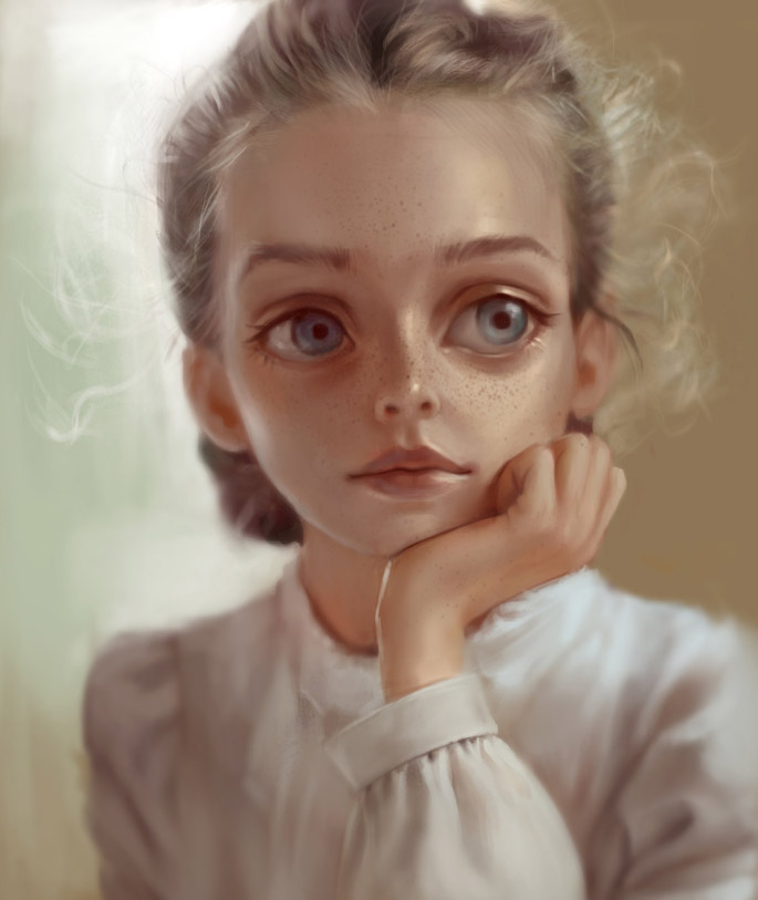 Ilse Harting | Paintable.cc Weekly Digital Painting Inspiration #digitalpainting #art