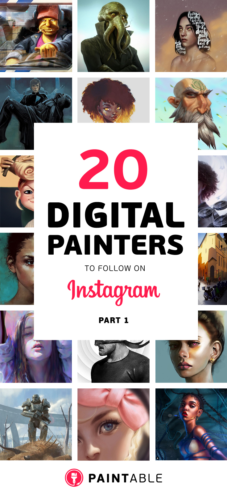 20 Digital Painters on Instagram
