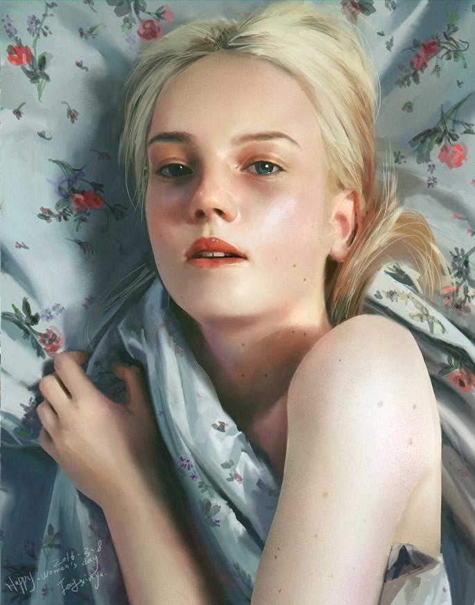 Fang Xinyu | Paintable.cc Weekly Digital Painting Inspiration #digitalpainting #art