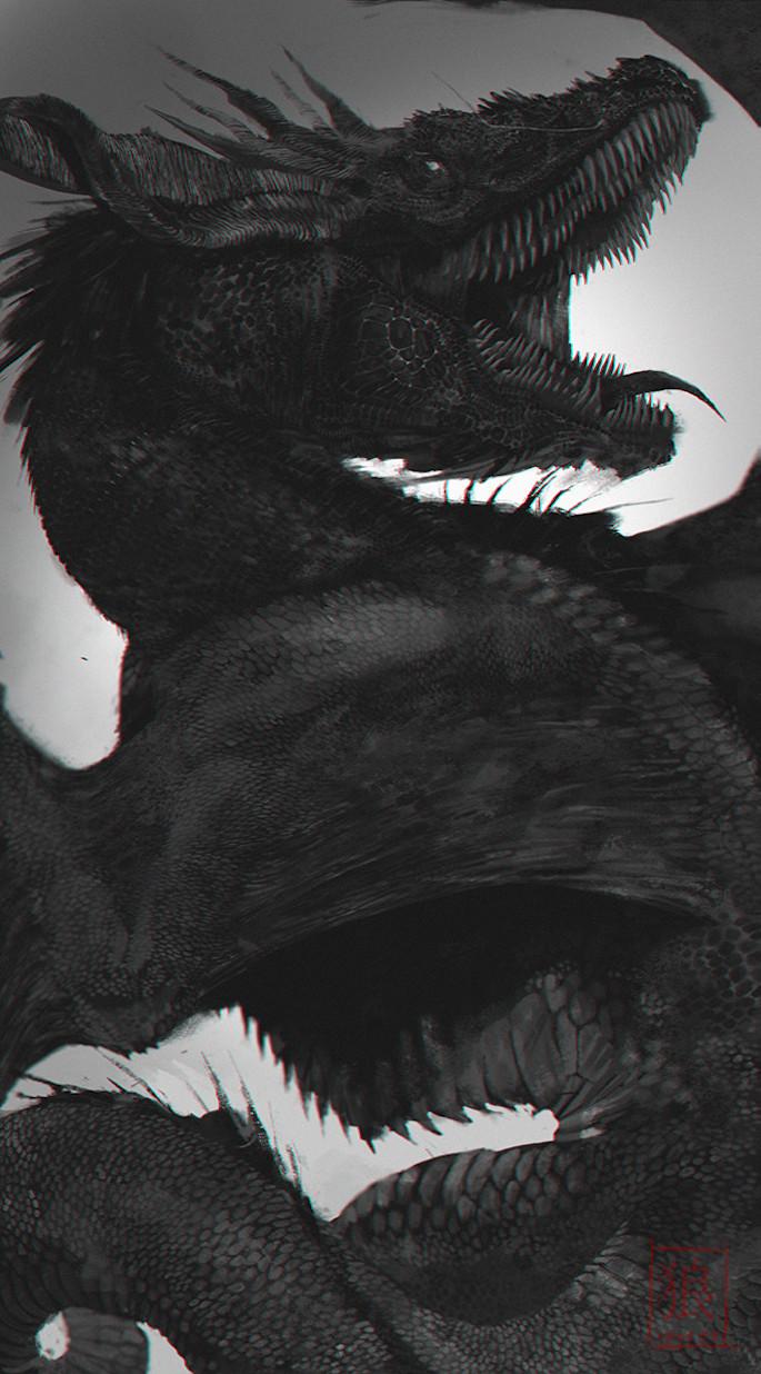 Ankou Schnee   35 Game of Thrones Inspired Digital Paintings on Paintable.cc