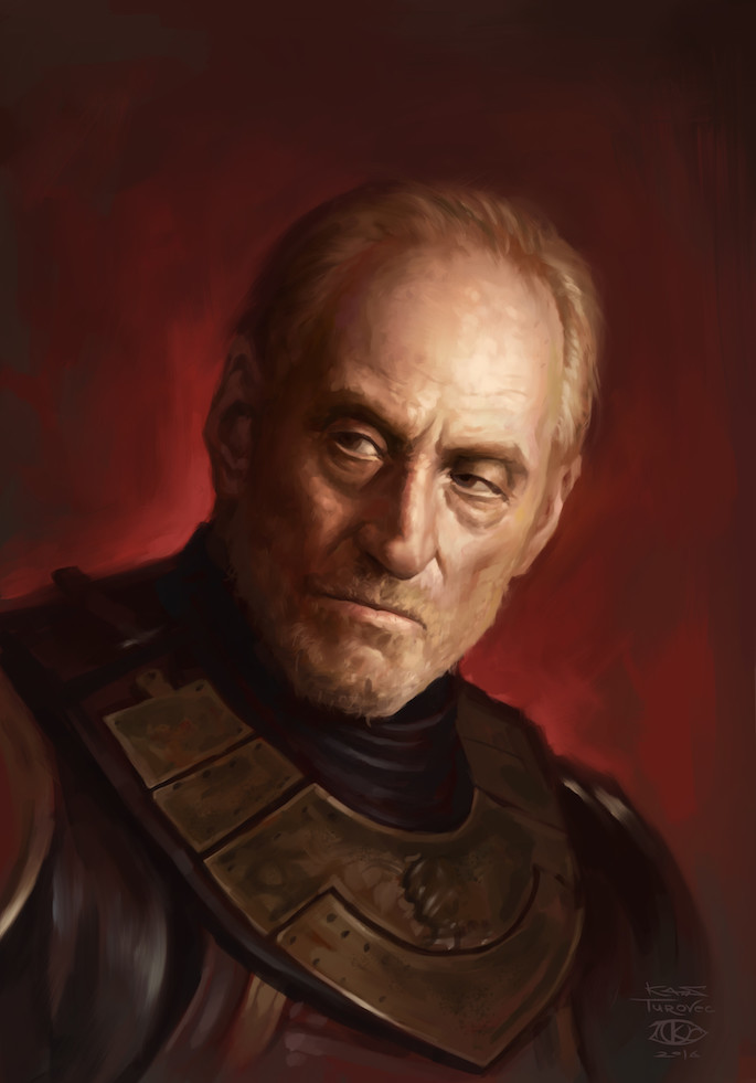 Konstantin Turovec | 35 Game of Thrones Inspired Digital Paintings on Paintable.cc