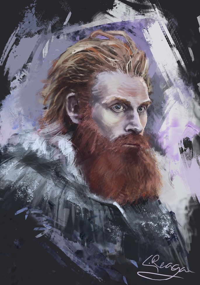 Liam Reagan | 35 Game of Thrones Inspired Digital Paintings on Paintable.cc