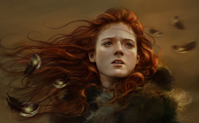 Dalisa Art | 35 Game of Thrones Inspired Digital Paintings on Paintable.cc