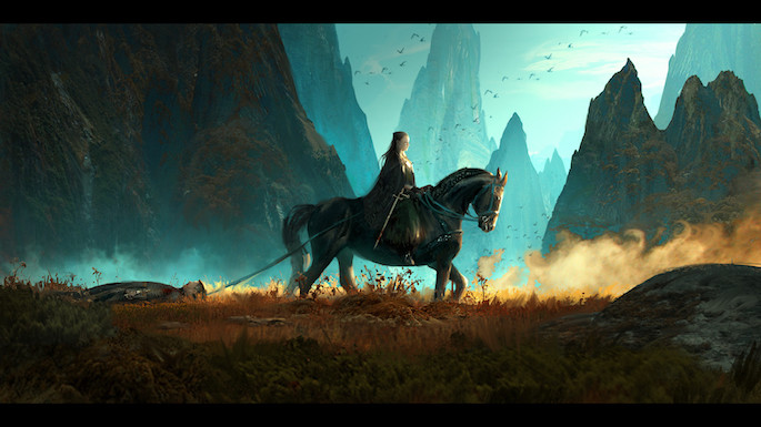 Marta Danecka | 35 Game of Thrones Inspired Digital Paintings on Paintable.cc