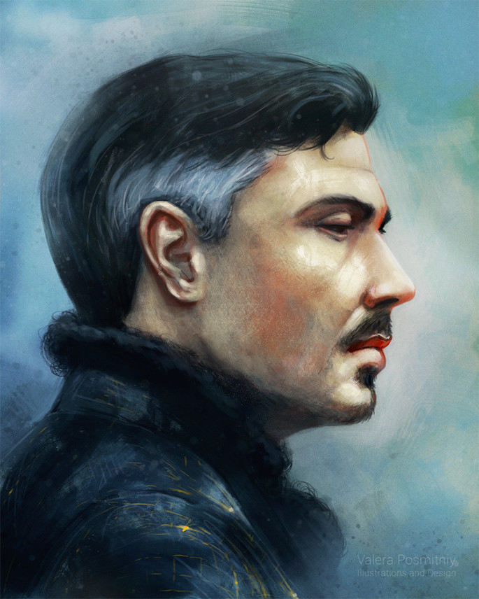 Valera Posmitny | 35 Game of Thrones Inspired Digital Paintings on Paintable.cc