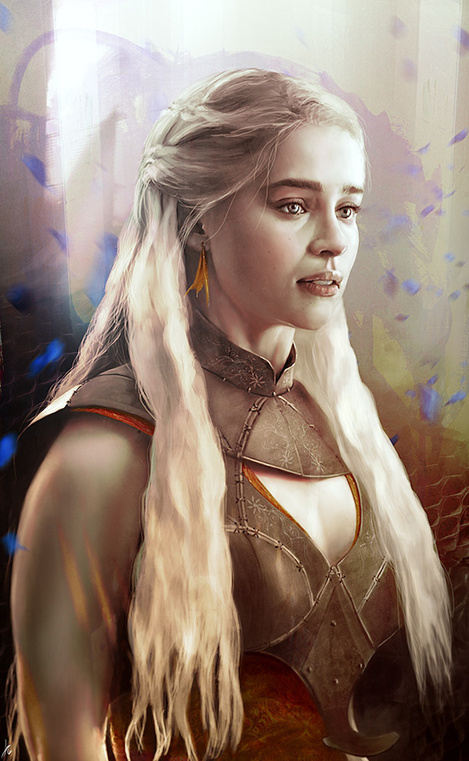 Ignacio de la Calle | 35 Game of Thrones Inspired Digital Paintings on Paintable.cc