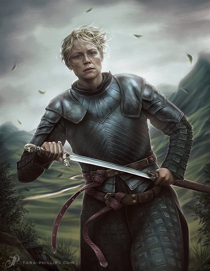 Tara Phillips | 35 Game of Thrones Inspired Digital Paintings on Paintable.cc