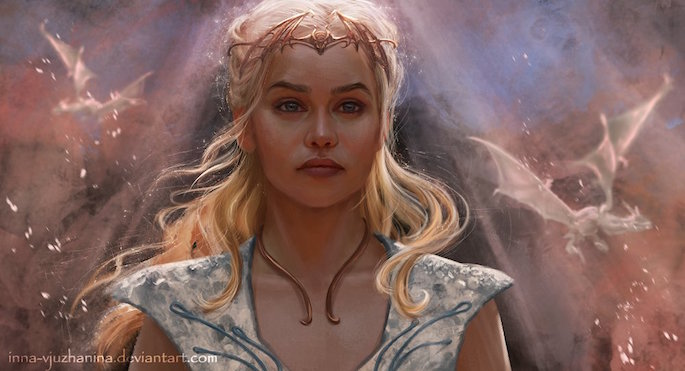 Inna Vjuzhanina | 35 Game of Thrones Inspired Digital Paintings on Paintable.cc