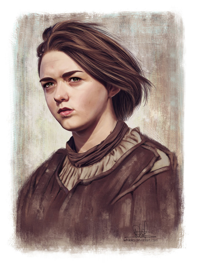 Whitney Silva | 35 Game of Thrones Inspired Digital Paintings on Paintable.cc