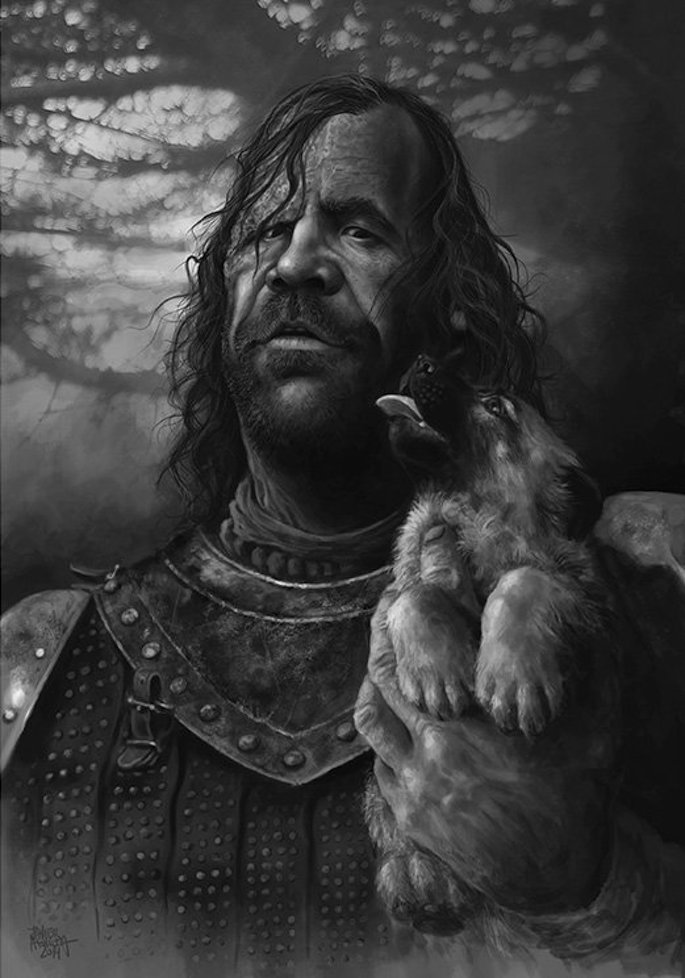 Javier Aguilera | 35 Game of Thrones Inspired Digital Paintings on Paintable.cc
