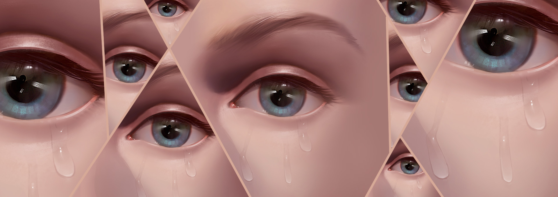 How to Paint Realistic Tears and Water Droplets in Adobe Photoshop