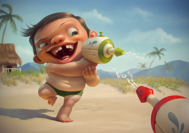 Tiago Hoisel | Paintable.cc Digital Painting Inspiration - Learn the Art of Digital Painting! #digitalpainting #art