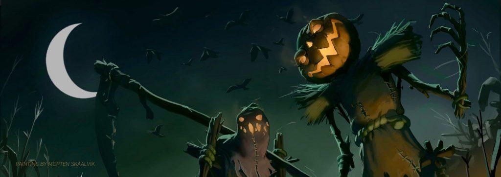 25 Spooky Halloween Paintings