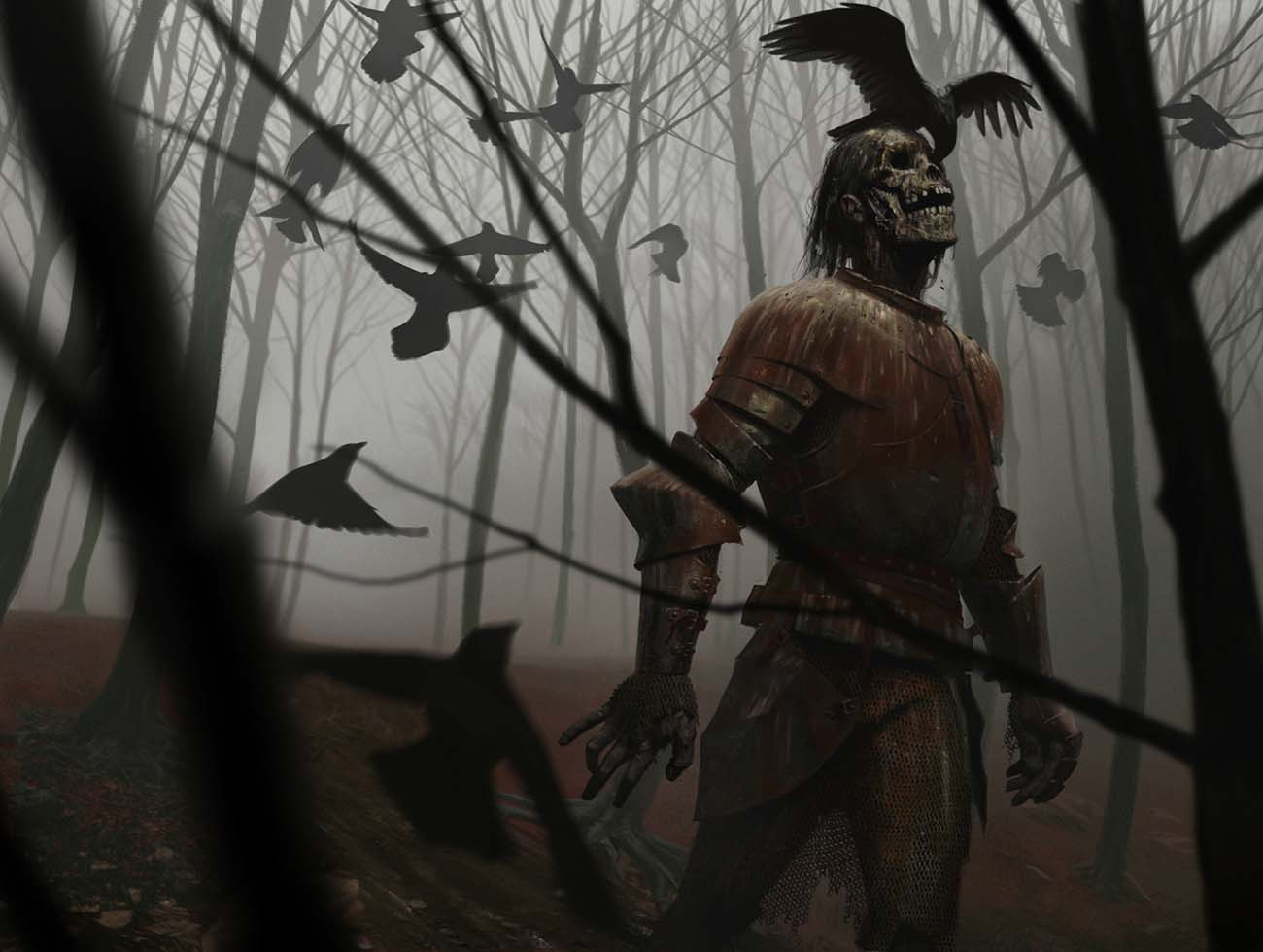 Joseph Meehan | Paintable.cc 25 Spooky Halloween Digital Paintings to Give You Nightmares! #digitalpainting #digitalart #halloween