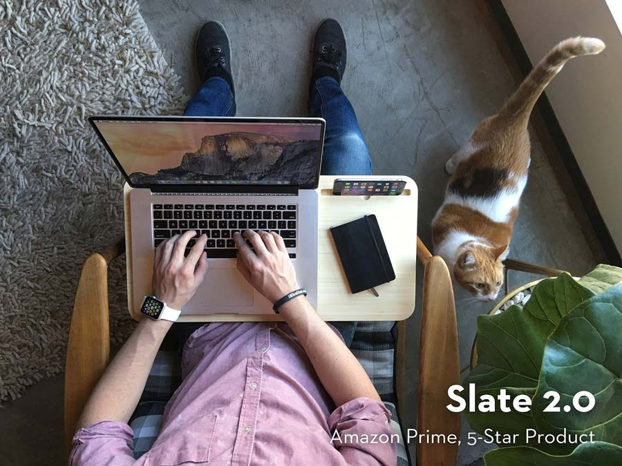 Slate 2.0 - Mobile LapDesk | 50 Creative Gifts for Digital Artists and Painters, on Paintable.cc