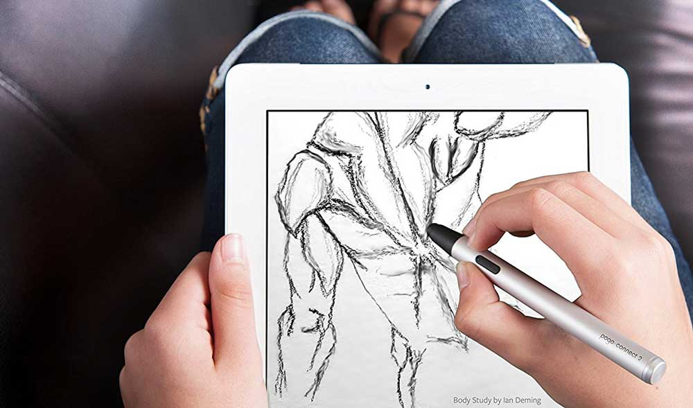 Pogo Connect 2 Smart Pen for iPad | 50 Creative Gifts for Digital Artists and Painters, on Paintable.cc