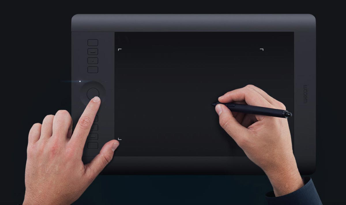 Wacom Intuos Pro Pen and Touch Tablet | 50 Creative Gifts for Digital Artists and Painters, on Paintable.cc