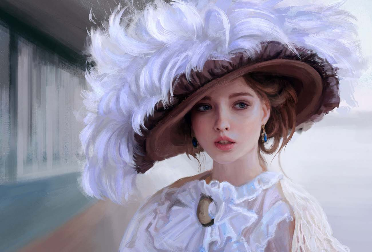 Mandy Jurgens | Paintable.cc Digital Painting Inspiration - Learn the Art of Digital Painting! #digitalpainting #digitalart