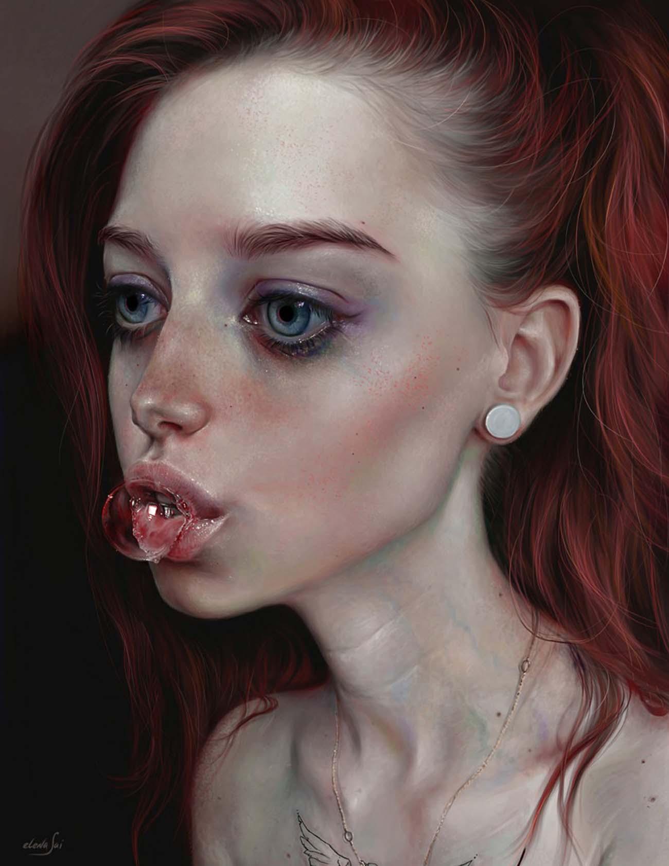 Elena Sai | Paintable.cc Digital Painting Inspiration - Learn the Art of Digital Painting! #digitalpainting #digitalart