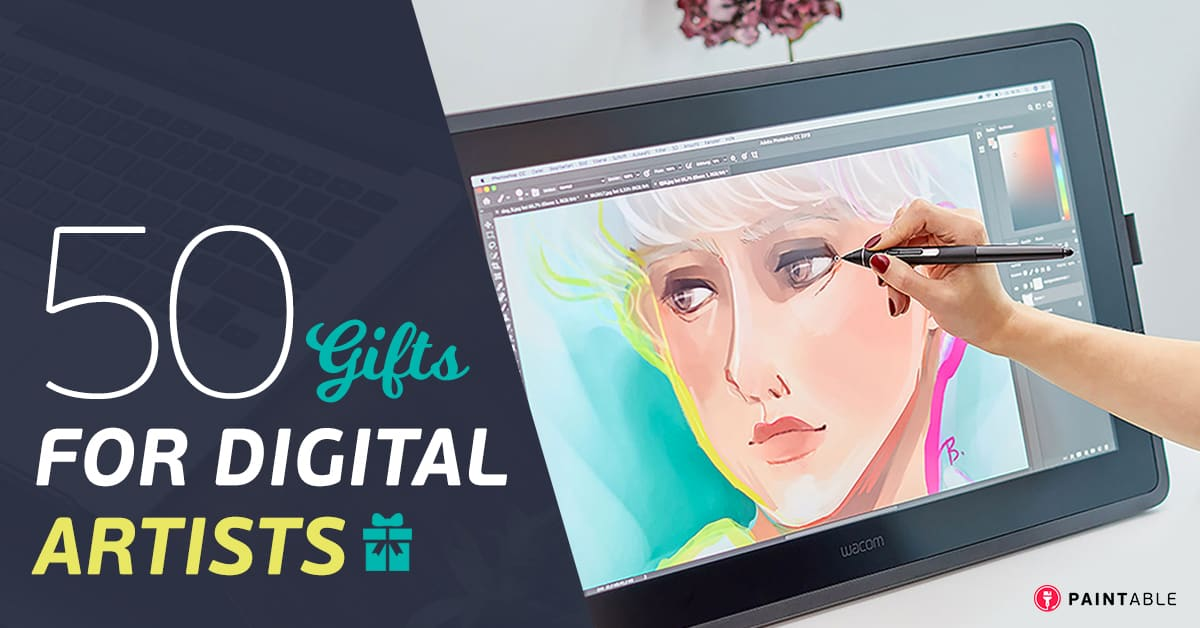 50 Fantastically Creative Gifts For Digital Painters Artists