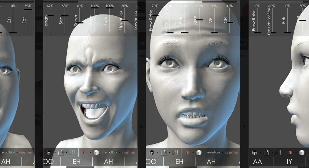 MARA3D Facial Expressions | 50 Creative Gifts for Digital Artists and Painters, on Paintable.cc