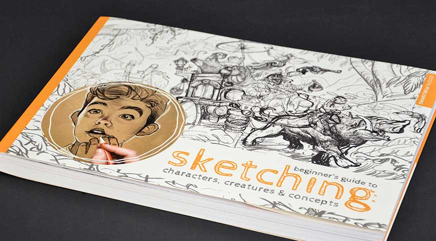 Beginner's Guide to Sketching | 50 Creative Gifts for Digital Artists and Painters, on Paintable.cc