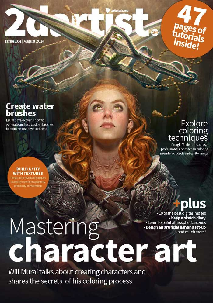 2DArtist Magazine Subscription | 50 Creative Gifts for Digital Artists and Painters, on Paintable.cc