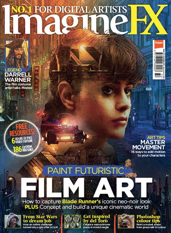 imagineFX Magazine Subscription | 50 Creative Gifts for Digital Artists and Painters, on Paintable.cc