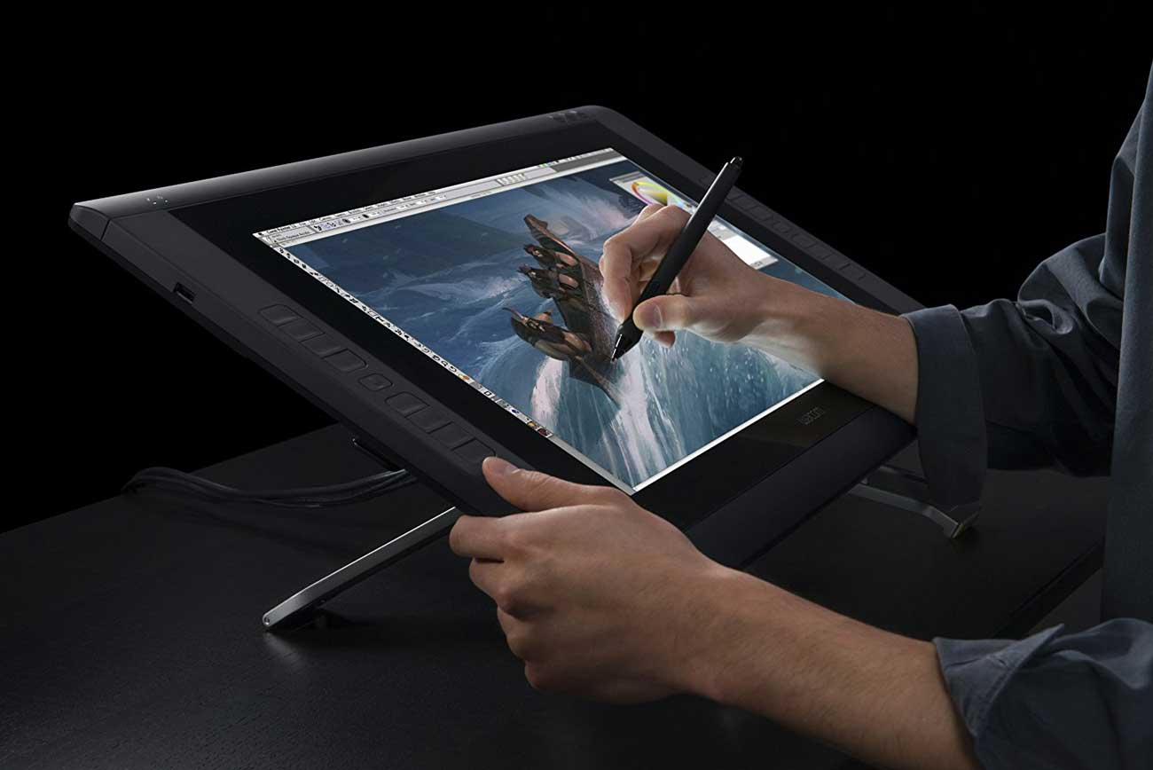 Wacom Cintiq 22HD Display Tablet | 50 Creative Gifts for Digital Artists and Painters, on Paintable.cc