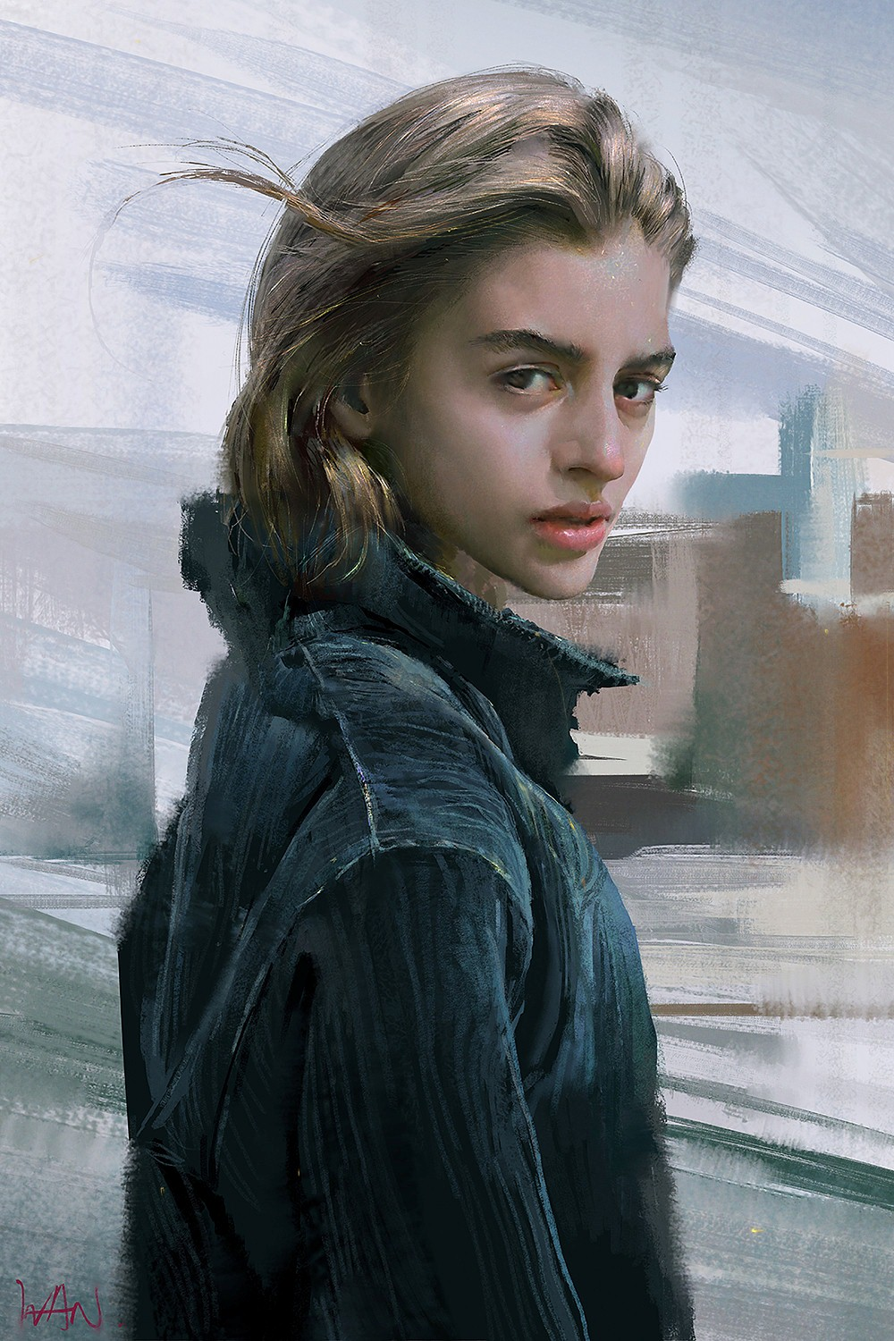 Ivan 小红花 | Paintable.cc Digital Painting Inspiration - Learn the Art of Digital Painting! #digitalpainting #digitalart