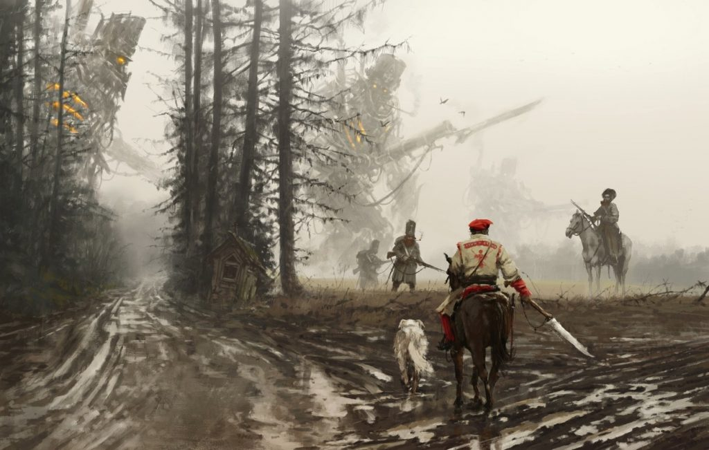 Jakub Rozalski | Paintable.cc Digital Painting Inspiration - Learn the Art of Digital Painting! #digitalpainting #digitalart
