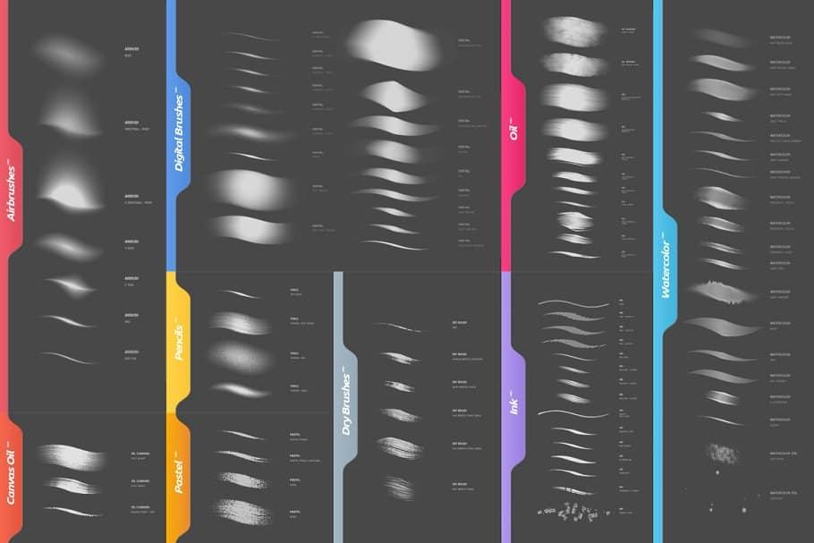RM Photoshop Brushes