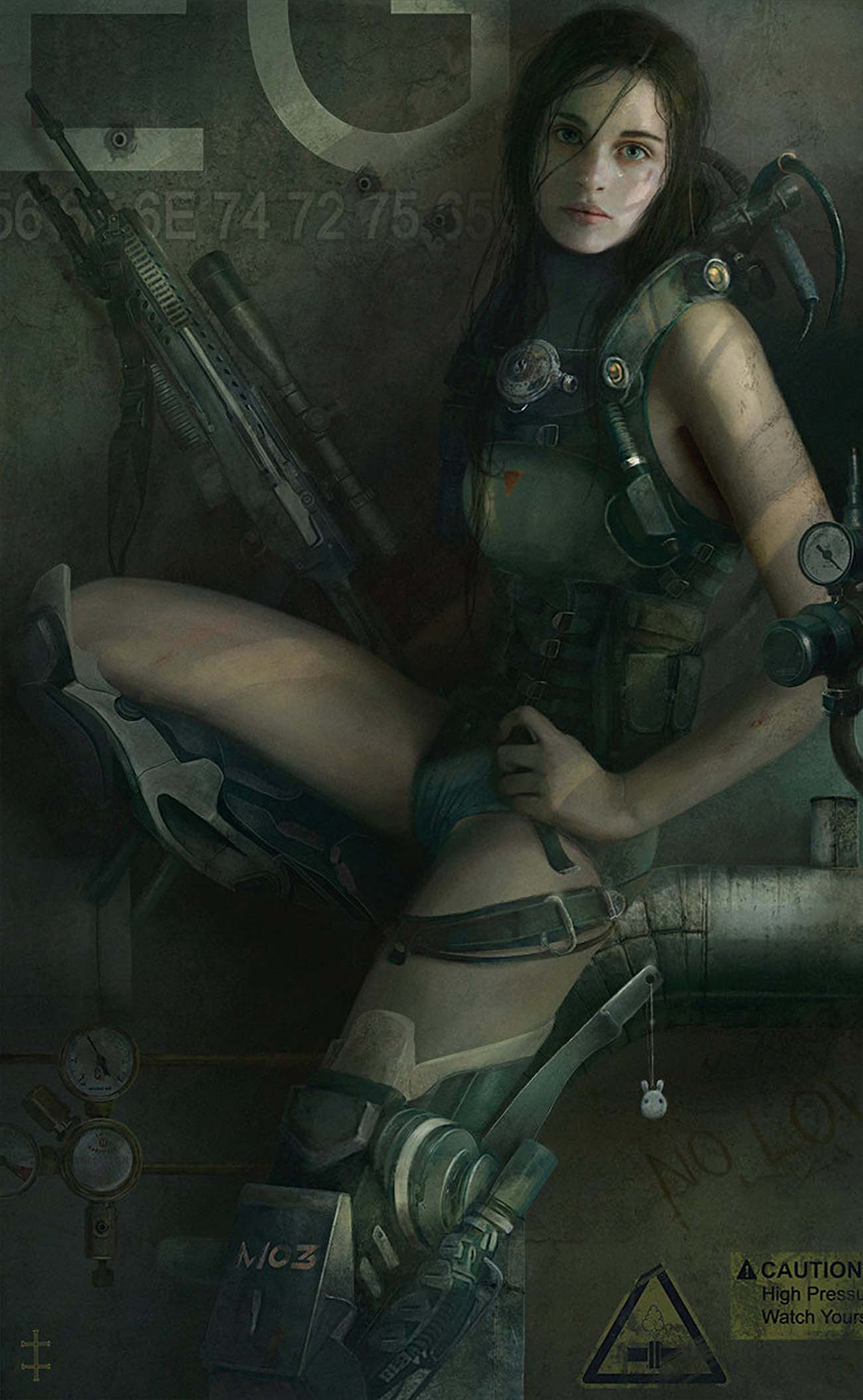 Eve Ventrue | Paintable.cc Digital Painting Inspiration - Learn the Art of Digital Painting! #digitalpainting #digitalart