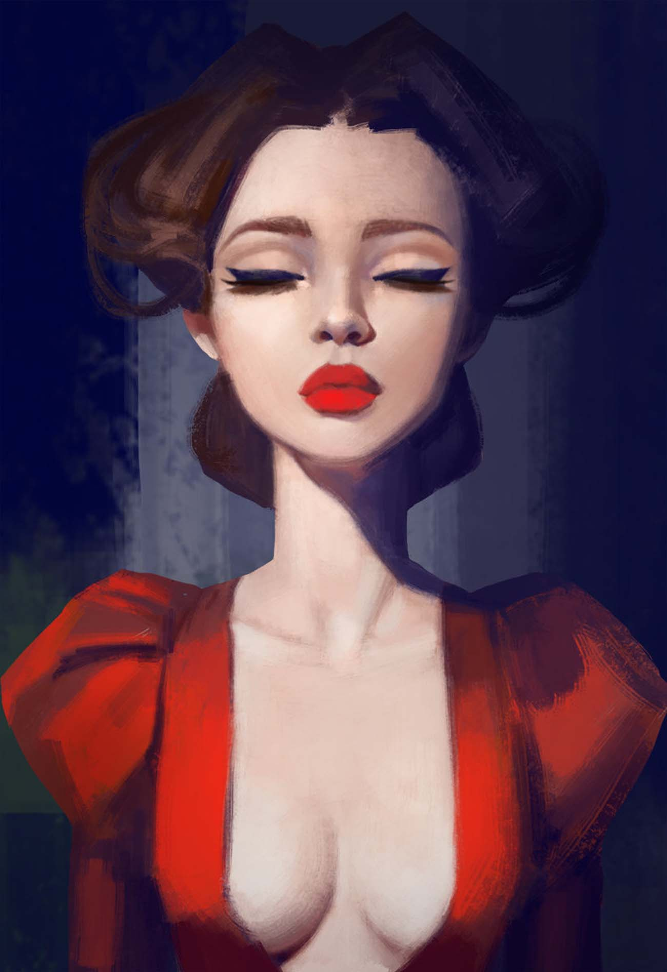 Anna Maystrenko | Paintable.cc Digital Painting Inspiration - Learn the Art of Digital Painting! #digitalpainting #digitalart
