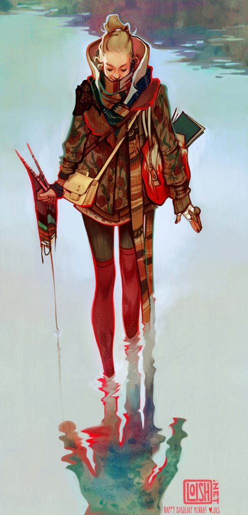 Loish | Digital Painting & Art Inspiration on Paintable.cc