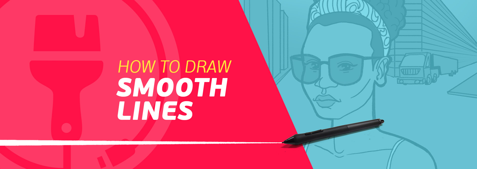 How to Draw PERFECT, Smooth Lines on Your Tablet (3 Life