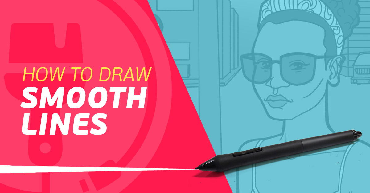 Drawing Smooth Curved Lines In Photo : Paintable how to draw perfect smooth lines on your tablet life
