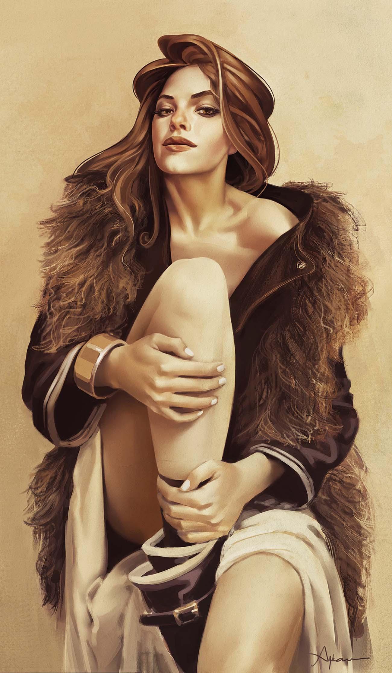Ayran Oberto | Paintable.cc Digital Painting Inspiration - Learn the Art of Digital Painting! #digitalpainting #digitalart