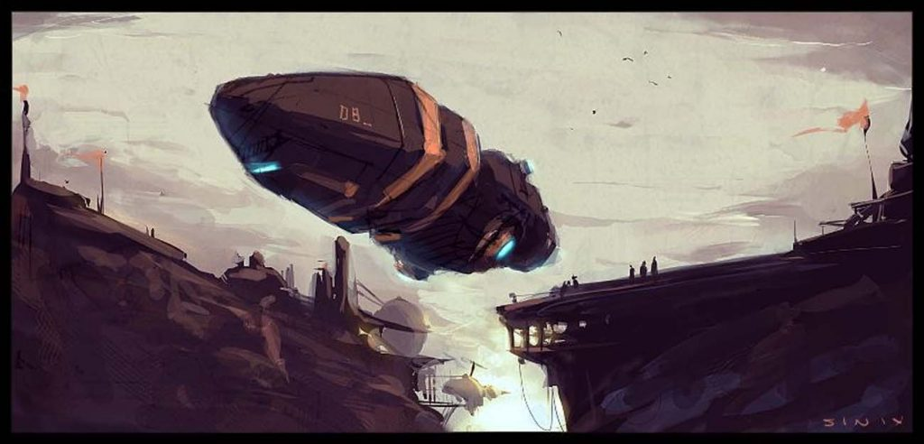 The Inspiring and Extraordinary Sci-Fi Artwork of Sinix - Paintable